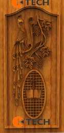 KTECH CNC Oak Doors Design 01