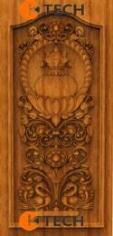 KTECH CNC Oak Doors Design 12