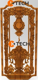 KTECH CNC Oak Doors Design 14