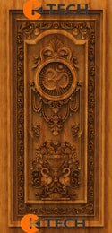 KTECH CNC Oak Doors Design 17