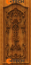 KTECH CNC Oak Doors Design 19