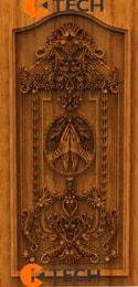 Ktech Cnc oak doors design 02