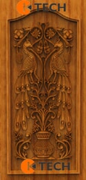 KTECH CNC Oak Doors Design 04