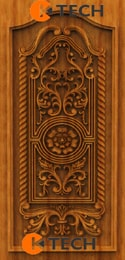 KTECH CNC Oak Doors Design 06