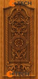 KTECH CNC Oak Doors Design 06