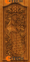 KTECH CNC Oak Doors Design 09