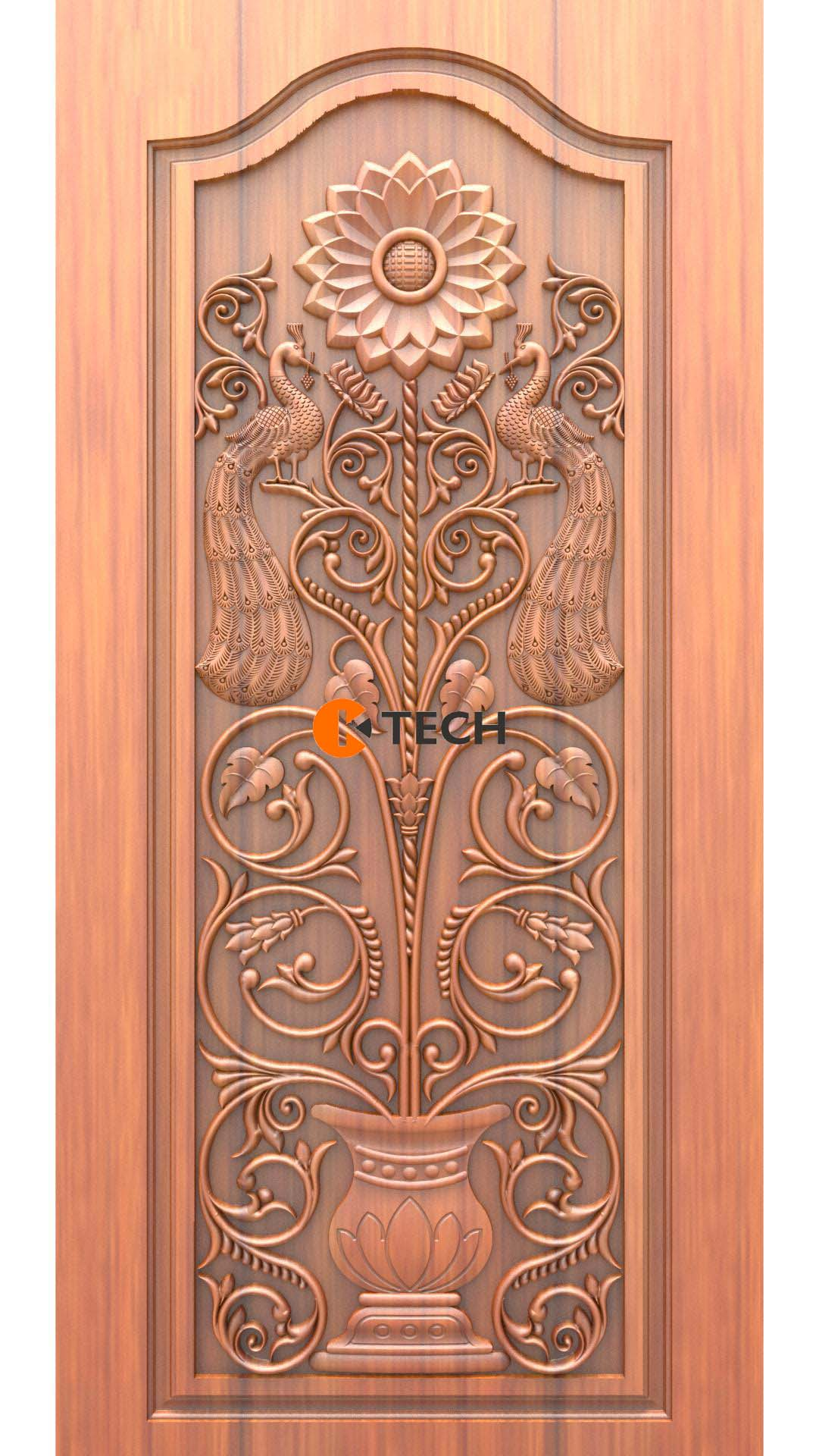K-TECH CNC Doors Design 10