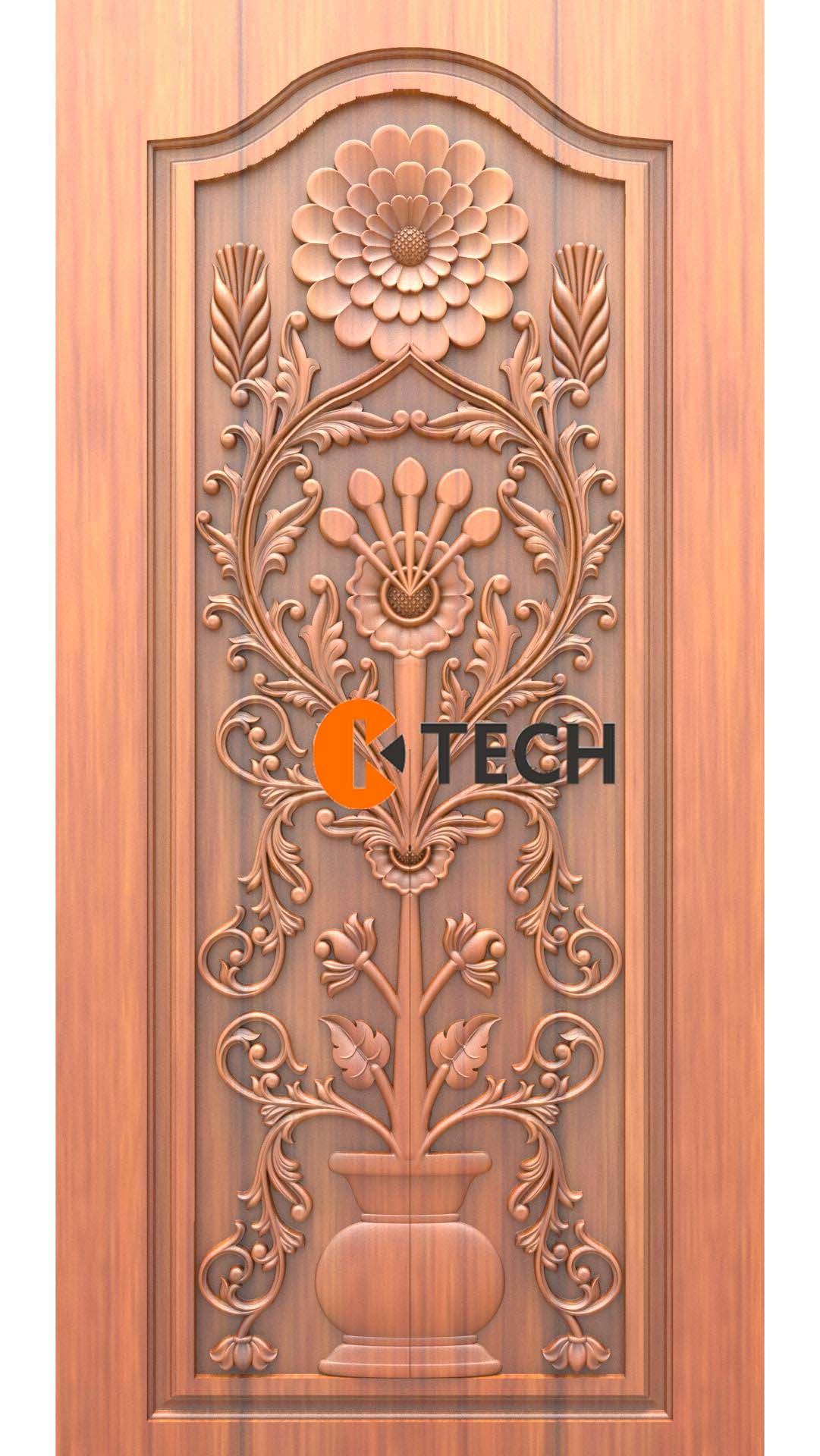 K-TECH CNC Doors Design 12