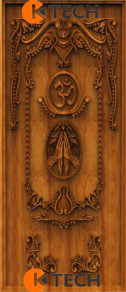 K-TECH CNC Oak Door Design 03