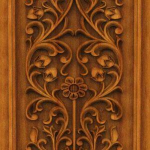 K-TECH CNC Oak Door Design 05