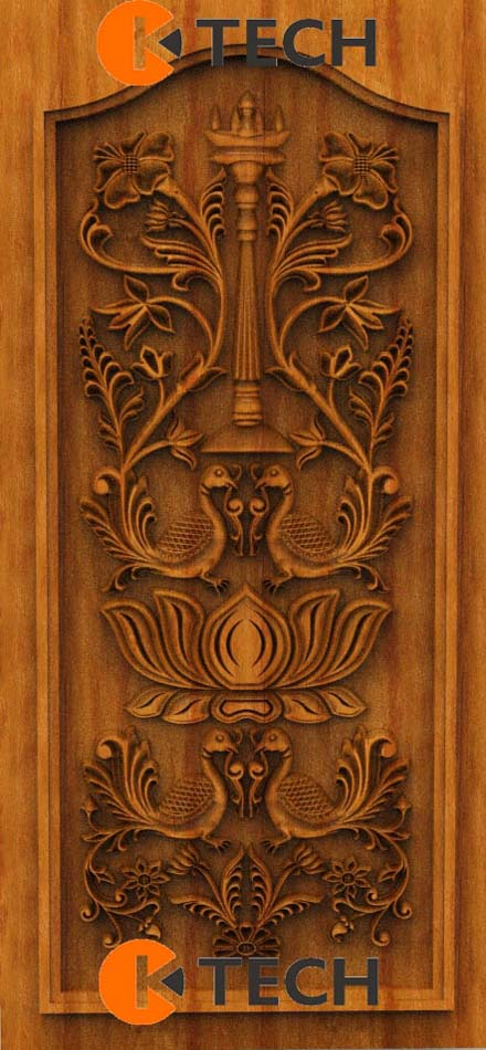 K-TECH CNC Oak Door Design 07