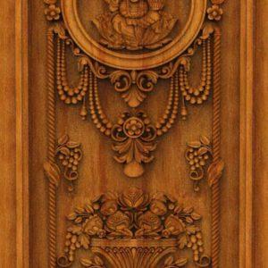 K-TECH CNC Oak Door Design 10