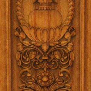 K-TECH CNC Oak Door Design 12
