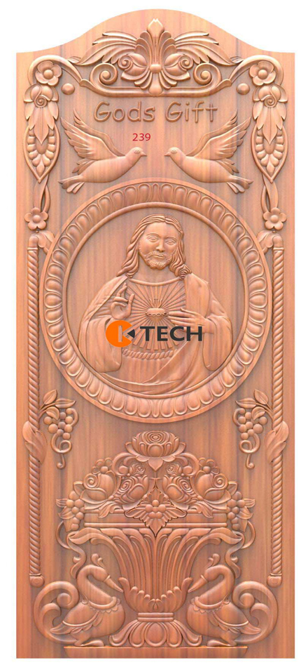 K-TECH CNC Doors Design 126