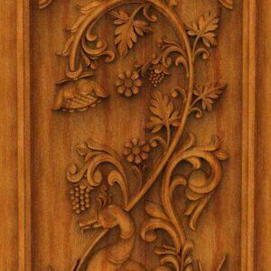 K-TECH CNC Oak Door Design 16