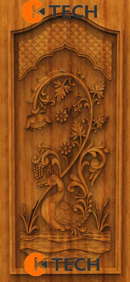 K-TECH CNC Oak Door Design 16