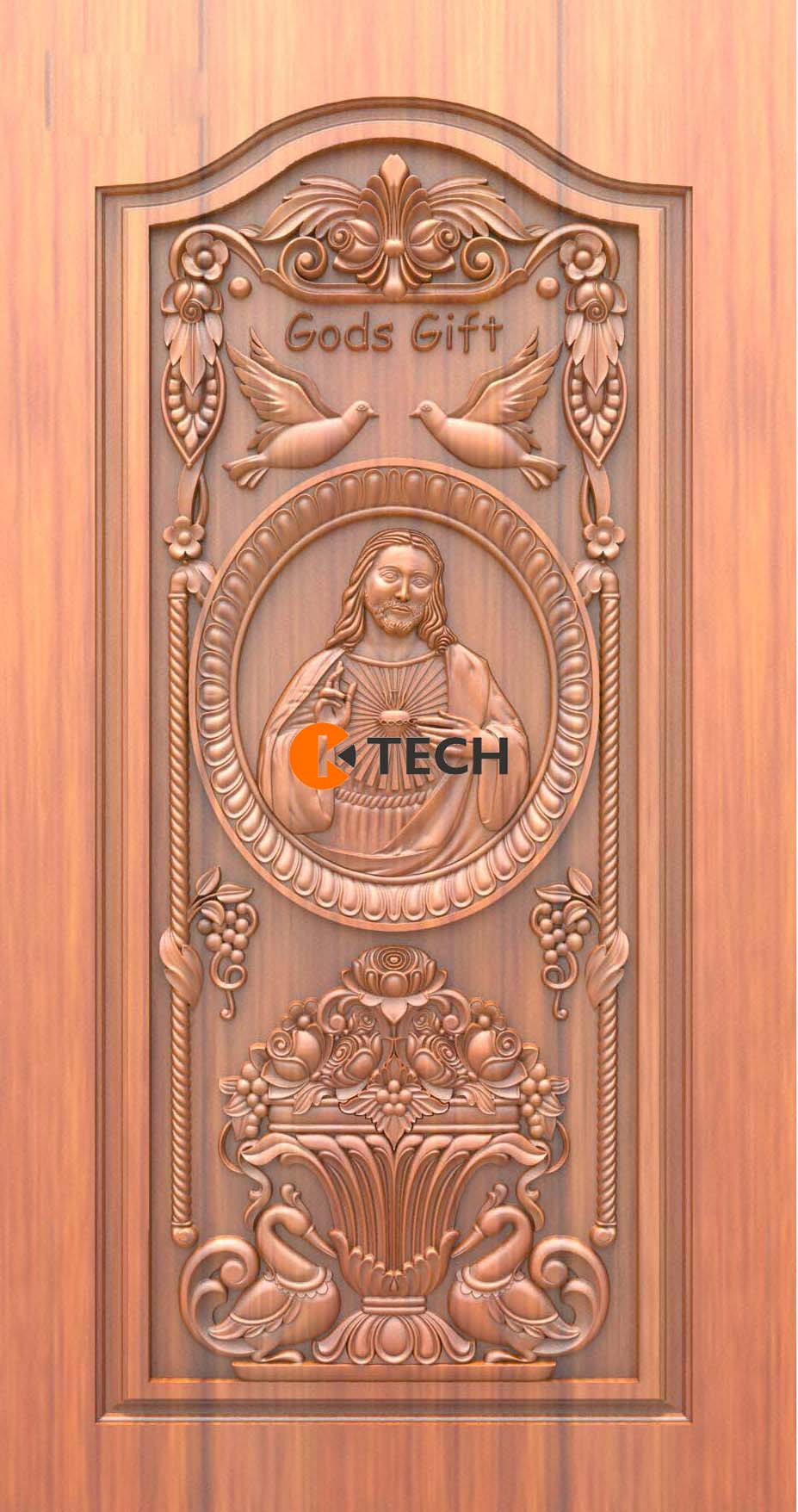 K-TECH CNC Doors Design 88