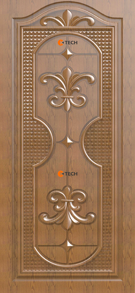 K-TECH CNC Modern Doors Design 11