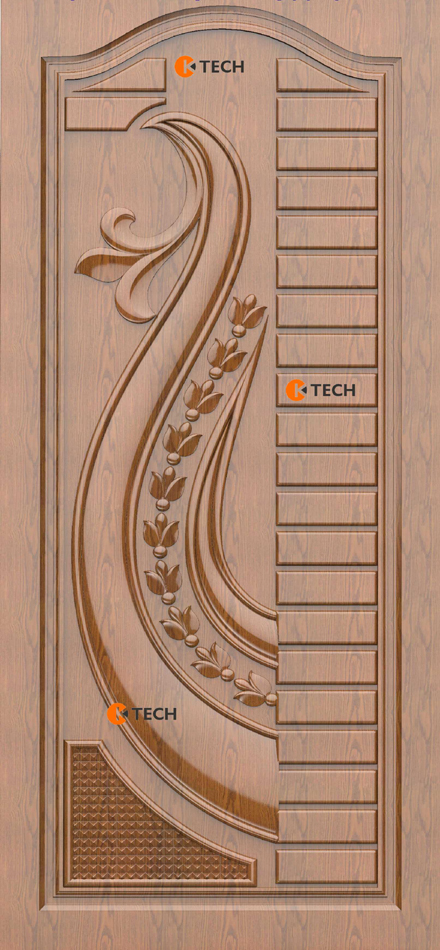 K-TECH CNC Modern Doors Design 13