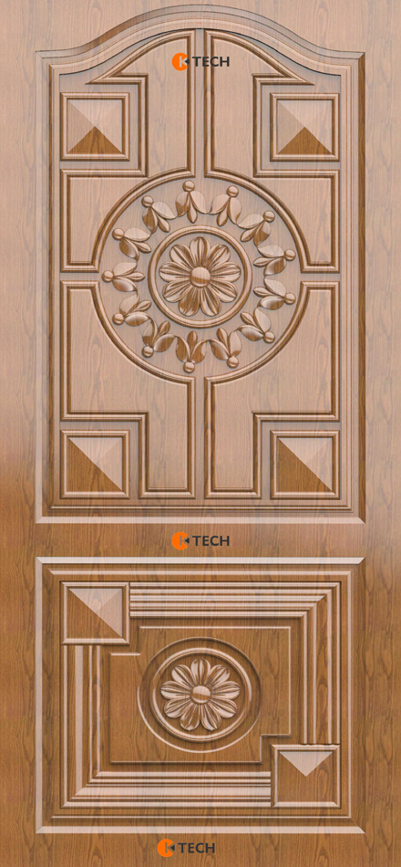 K-TECH CNC Modern Doors Design 14
