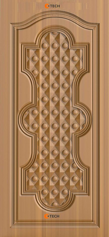 K-TECH CNC Modern Doors Design 04