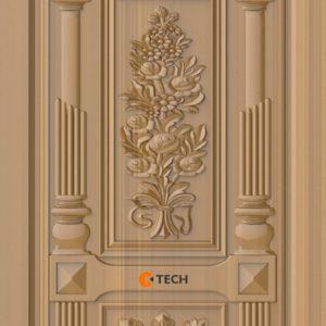 K-TECH CNC Modern Doors Design 05