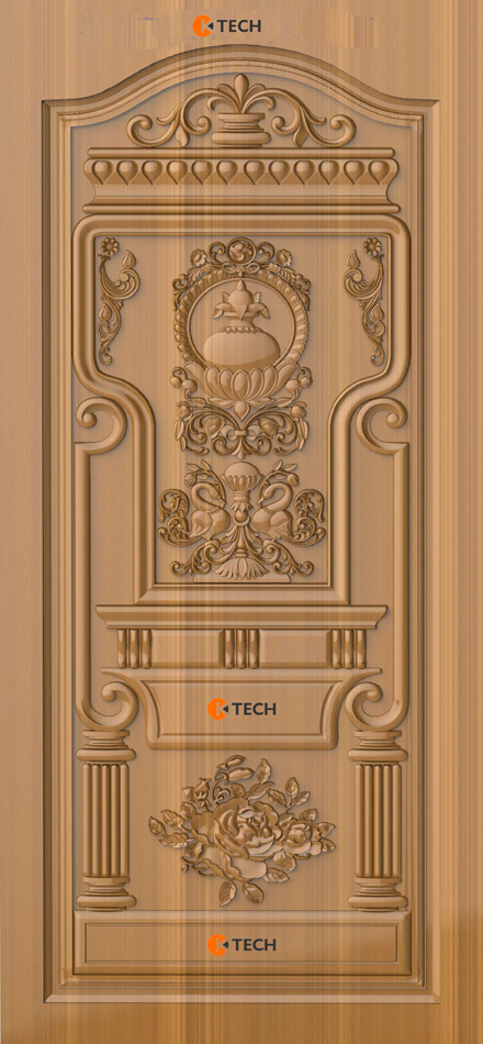 K-TECH CNC Modern Doors Design 06