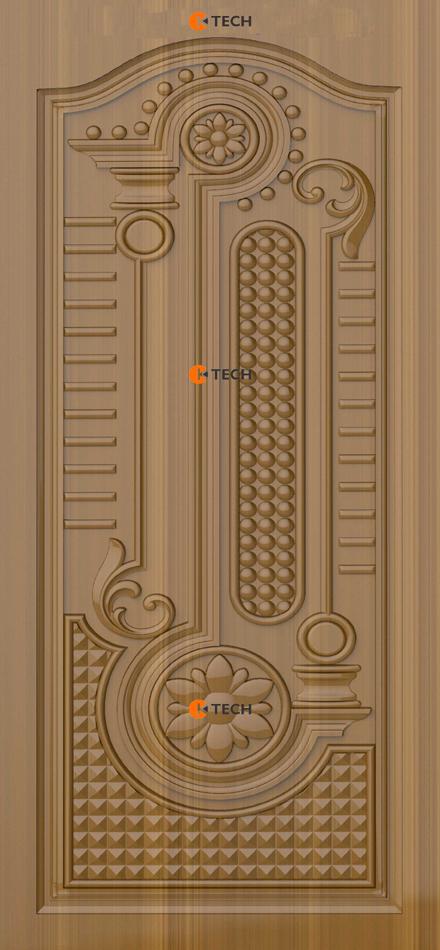 K-TECH CNC Modern Doors Design 07