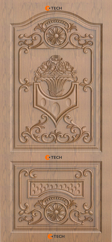 K-TECH CNC Modern Doors Design 08