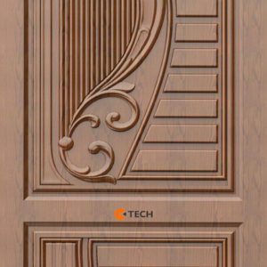 K-TECH CNC Modern Doors Design 09
