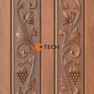 K-TECH CNC Traditional Doors Design 01