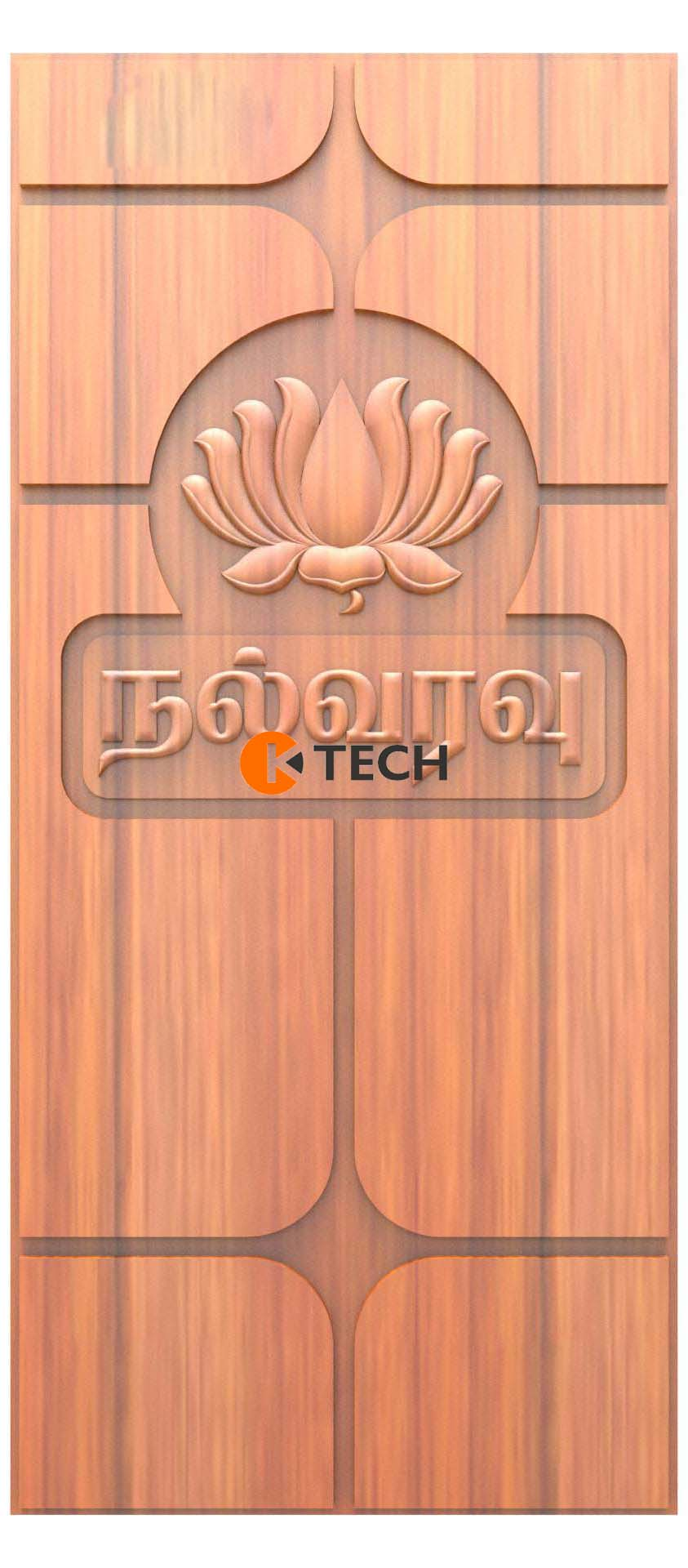 K-TECH CNC Doors Design 164