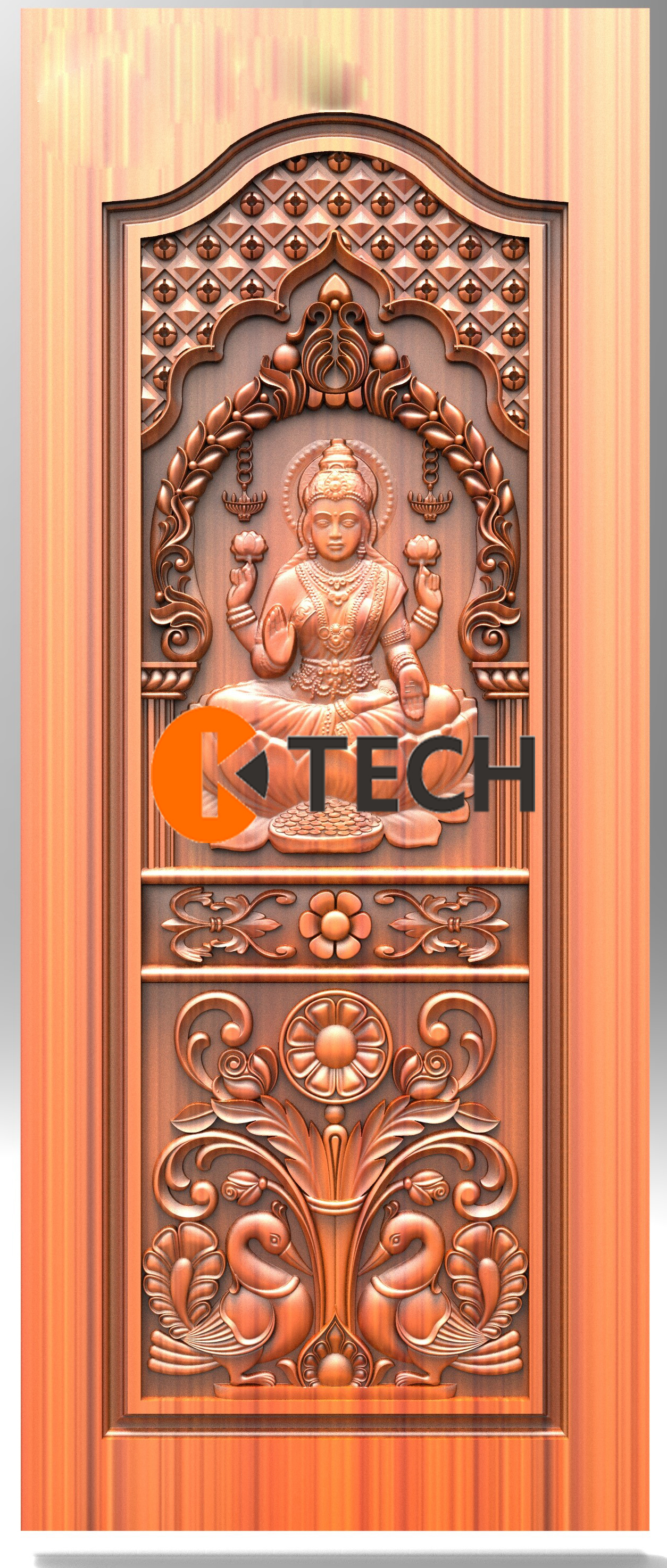 K-TECH CNC Doors Design 186