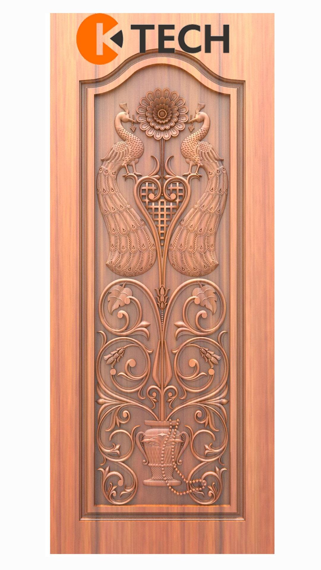 K-TECH CNC Doors Design 204