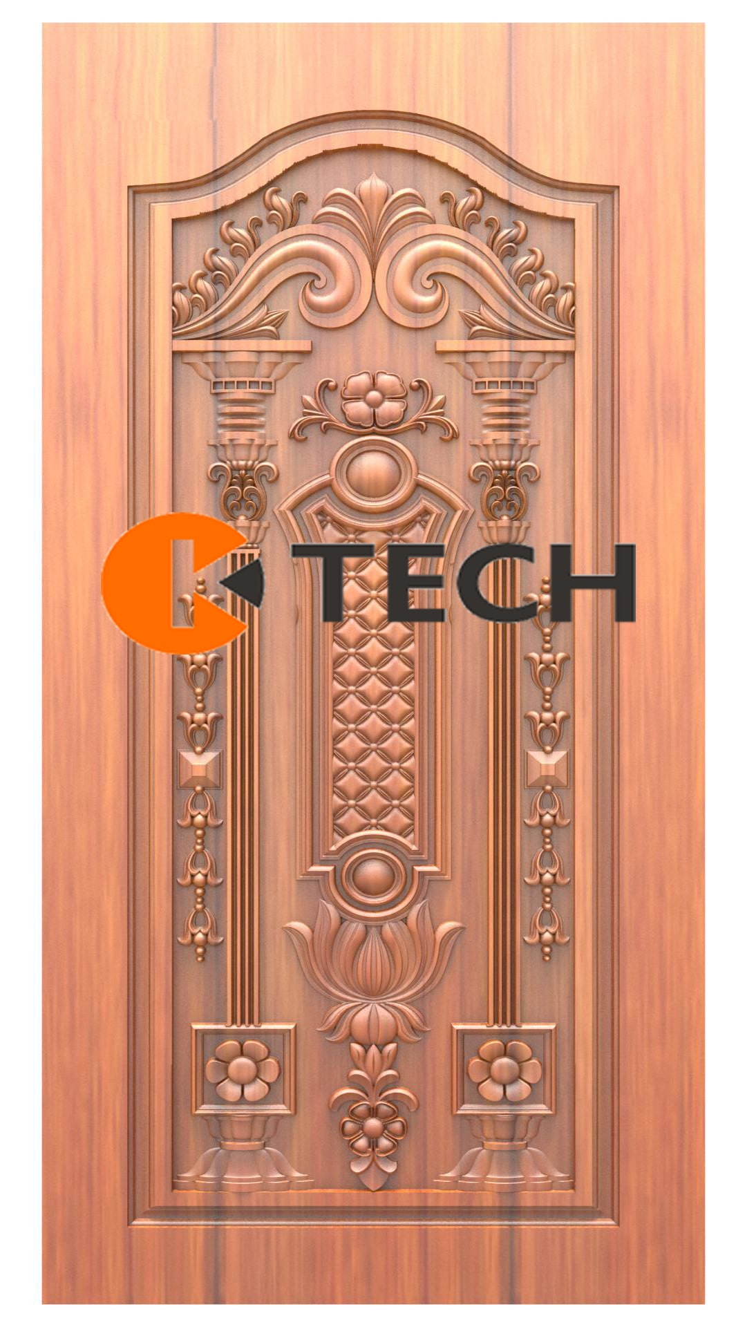 K-TECH CNC Doors Design 205