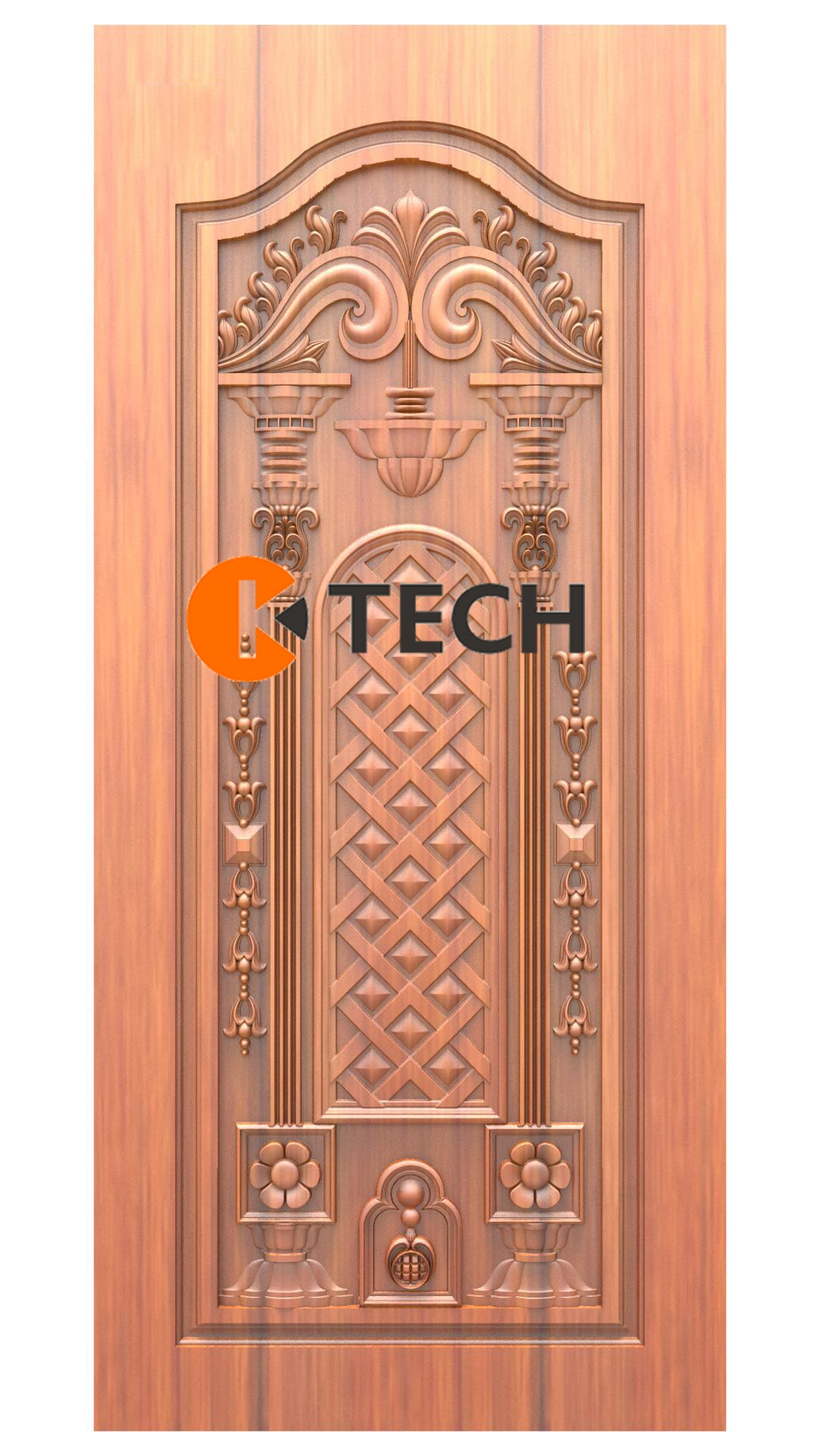 K-TECH CNC Doors Design 206