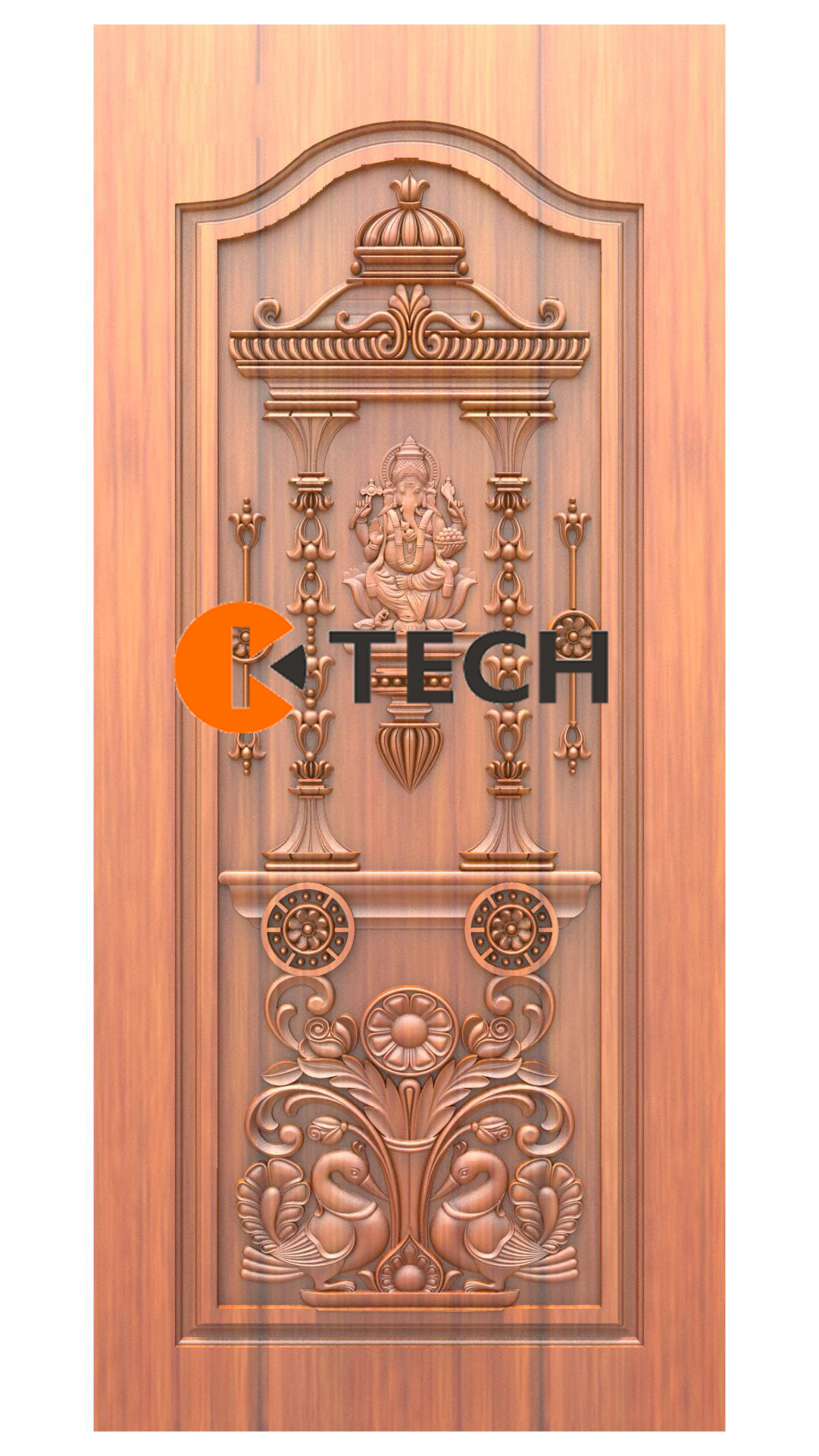 K-TECH CNC Doors Design 208