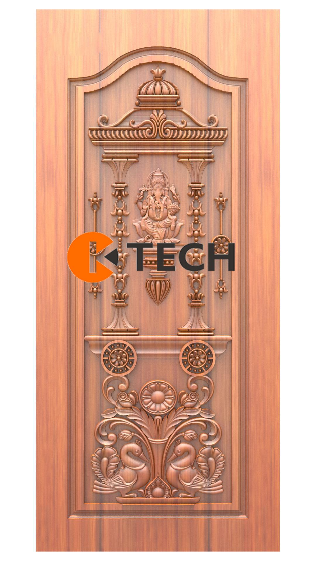 K-TECH CNC Doors Design 208