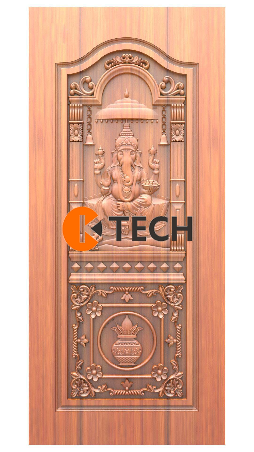 K-TECH CNC Doors Design 214