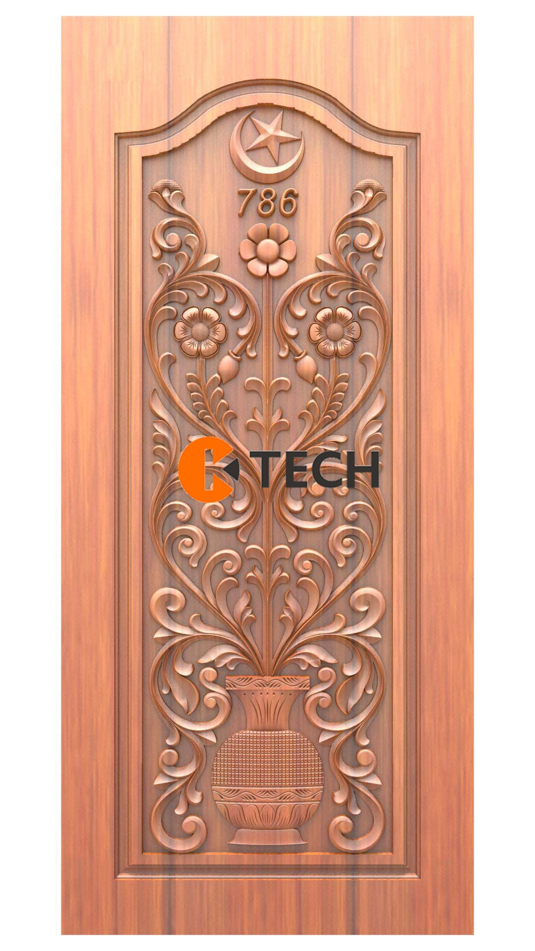 K-TECH CNC Doors Design 215