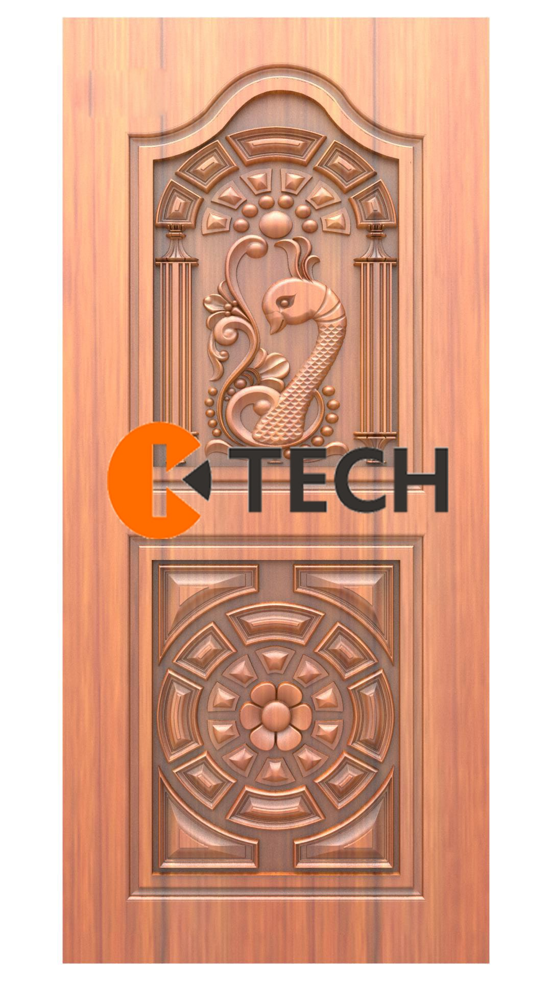K-TECH CNC Doors Design 216