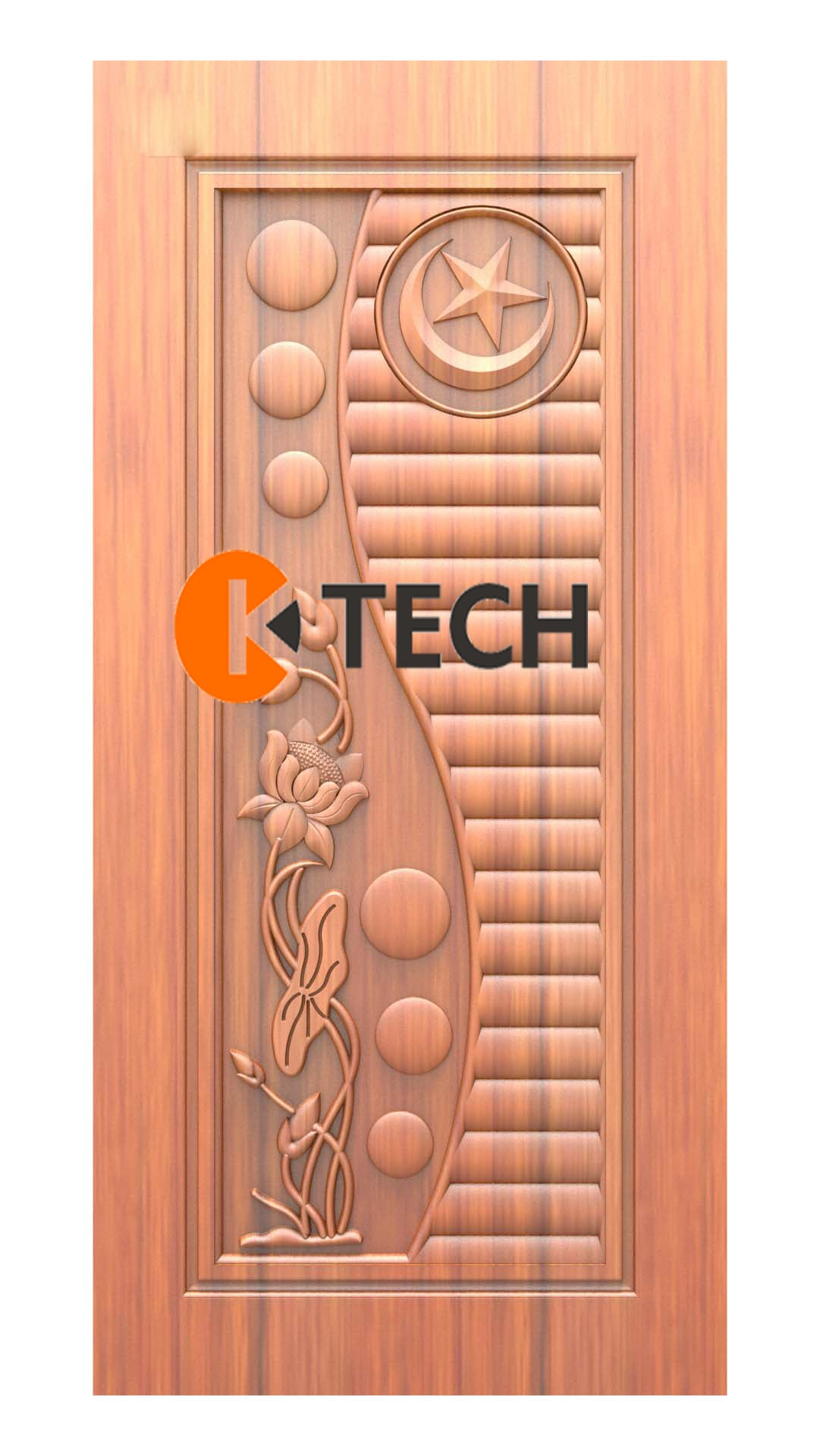 K-TECH CNC Doors Design 218