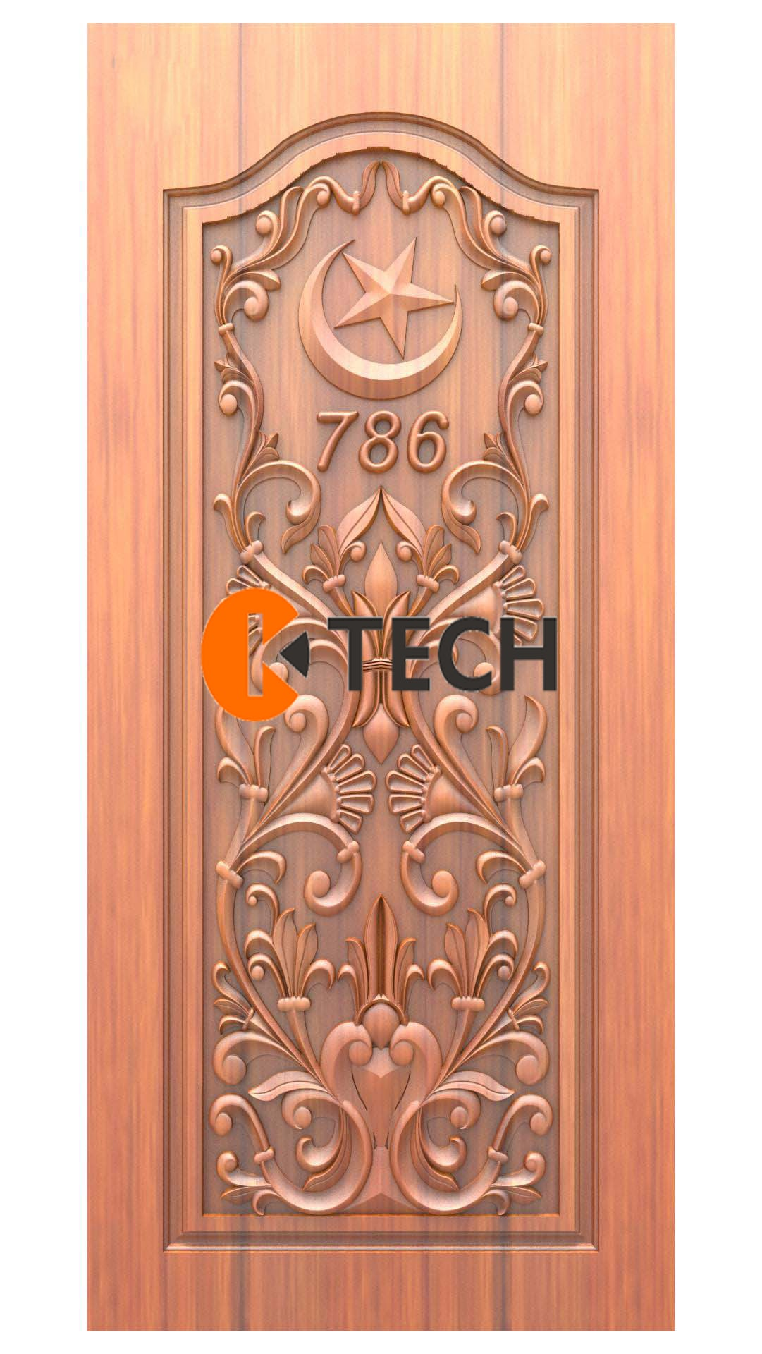 K-TECH CNC Doors Design 219
