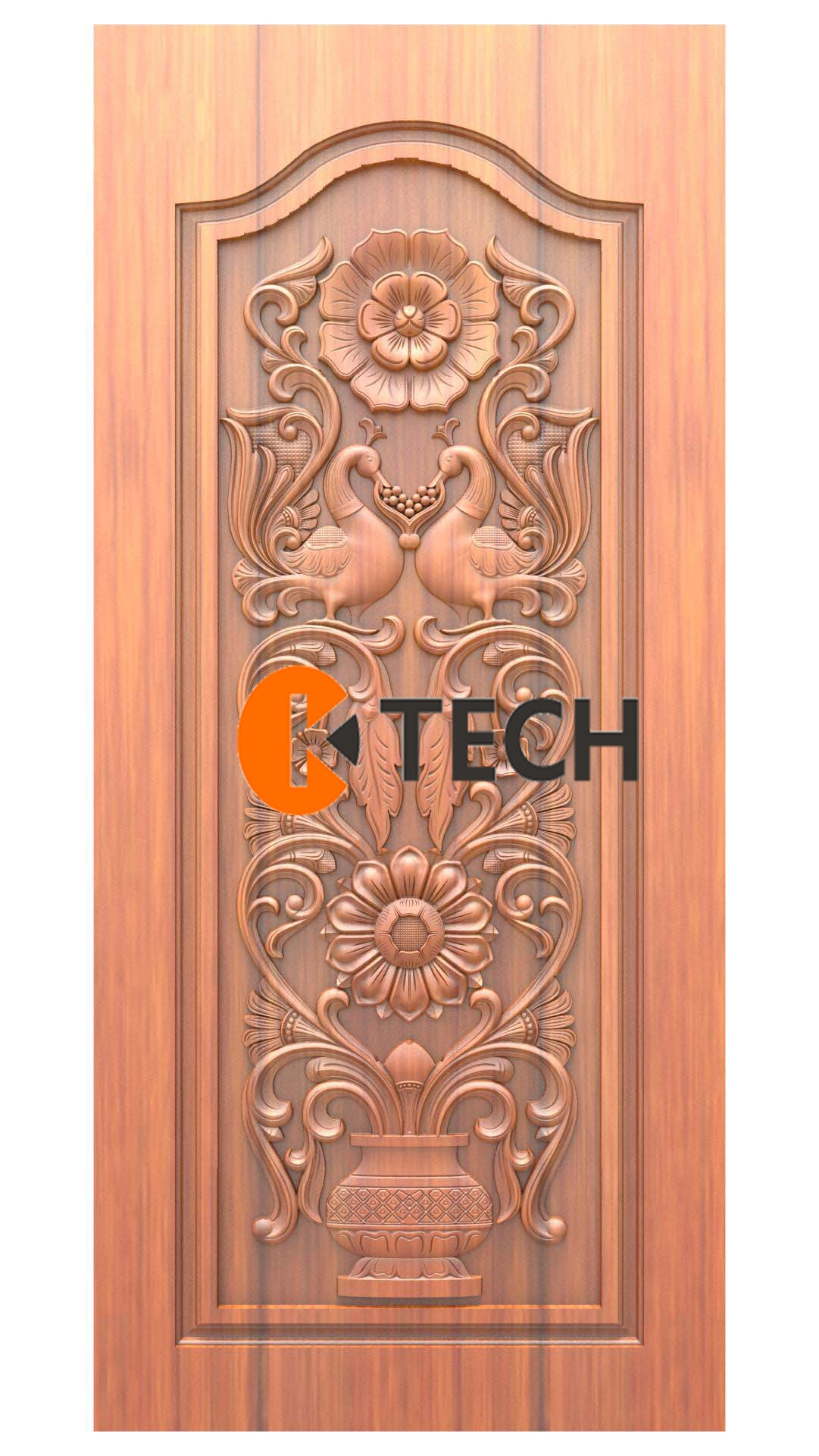 K-TECH CNC Doors Design 224