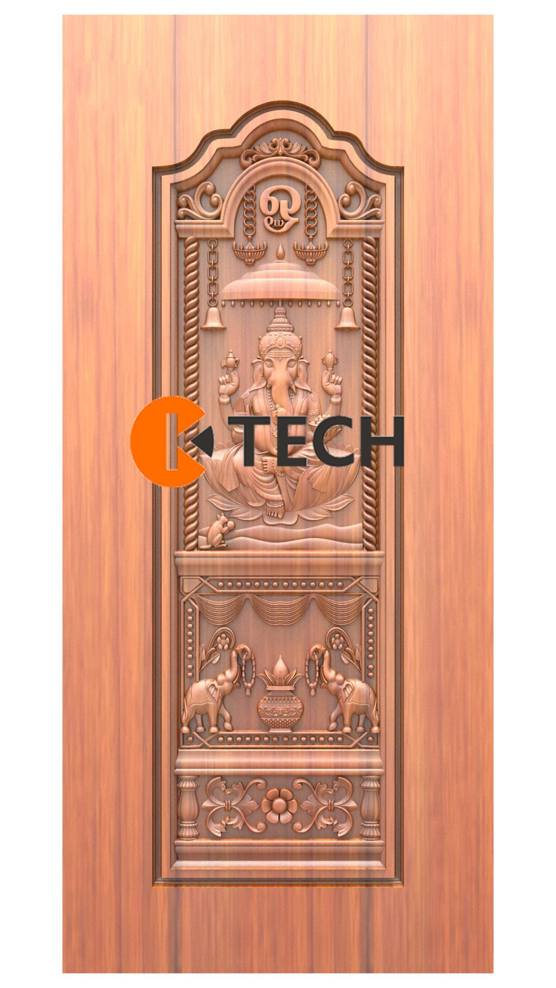 K-TECH CNC Doors Design 227