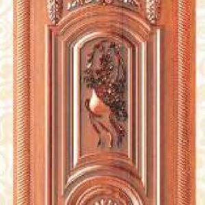 KTECH CNC Golden Panel Doors Design 05
