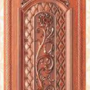 KTECH CNC Golden Panel Doors Design 06