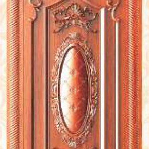 KTECH CNC Golden Panel Doors Design 15