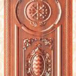 KTECH CNC Golden Panel Doors Design 18