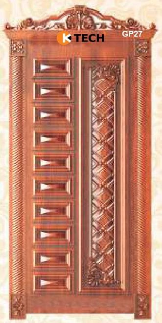 KTECH CNC Golden Panel Doors Design 27